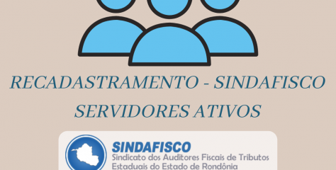 Informativo Sindafisco – Recadastramento – Ativos